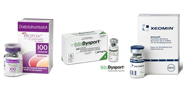 Dysport vs Botox vs Xeomin – What is the difference?