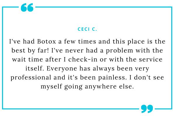 SD Botox testimonial