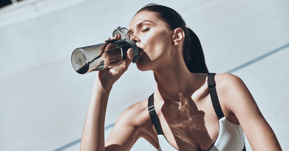 Drinking water helps skin health